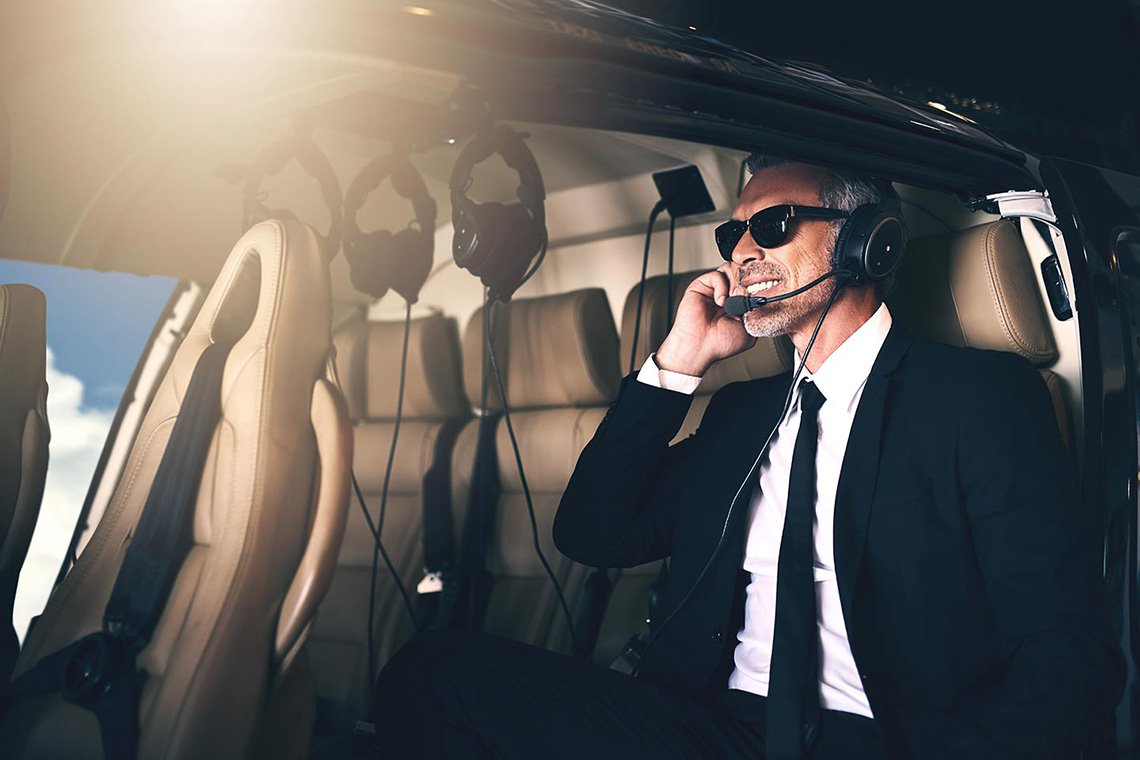 Executive Helicopter Charters in St. Louis