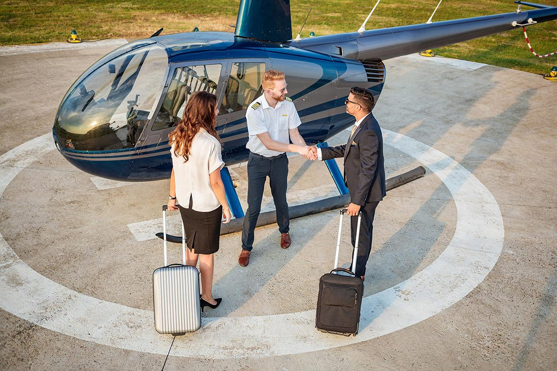 Specialty Helicopter Charters in St. Louis