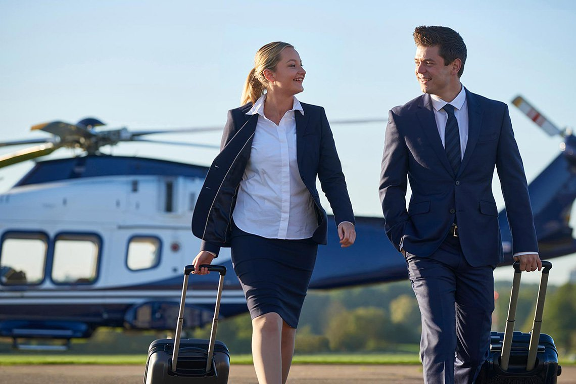 Business Helicopter Charters in St. Louis